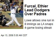 Furcal, Ethier Lead Dodgers Over Padres