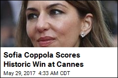 Coppola Is 1st Female Director to Win at Cannes in 56 Years