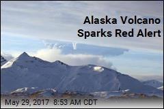 Alaska Volcano Sparks Red Alert