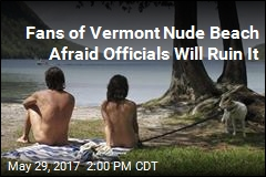 Fans of Vermont Nude Beach Afraid Officials Will Ruin It