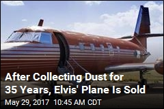 After Collecting Dust for 35 Years, Elvis' Plane Is Sold