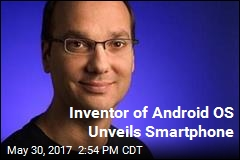 Inventor of Android OS Unveils Smartphone