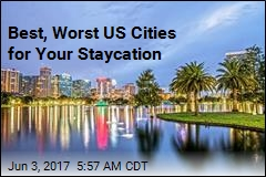 Staycationing? Best, Worst US Cities