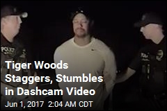 Cops Release Video of Tiger Woods Failing Sobriety Tests