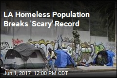 LA Homeless Population Breaks 'Scary' Record