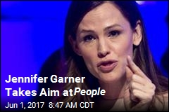 Jennifer Garner Takes Aim at People