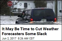 Don't Be So Ticked at Weather Forecasters: They're Improving