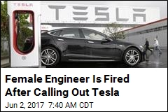 She Alleged Harassment, Tesla Fired Her