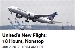 United to Offer World's Longest Nonstop Flight From US