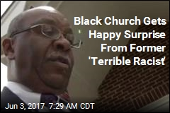 Former 'Terrible Racist' Offers Apology, $2K to Black Church