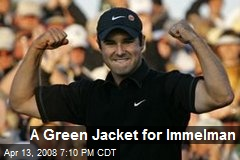A Green Jacket for Immelman