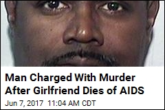 Man Charged With Murder Over Girlfriend's AIDS Death