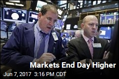 Markets End Day Higher
