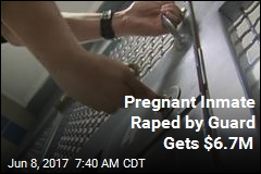 Jury Grants $6.7M to Pregnant Inmate Raped by Guard