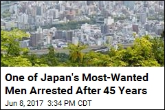 One of Japan's Most-Wanted Men Arrested After 45 Years