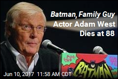 Adam West, TV's Batman, Dies at 88
