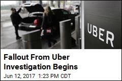 Fallout From Uber Report: At Least One Exec Is Gone