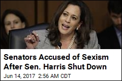 Male Colleagues Shut Down Sen. Kamala Harris Again