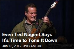 Ted Nugent Promises to Quit Using 'Hateful Rhetoric'