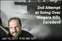 2nd Attempt at Going Over Niagara Kills Daredevil