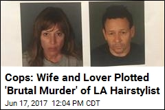Wife and Lover Busted for Celeb Hairdresser's Murder