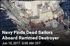 Navy Finds Sailors Missing After Collision