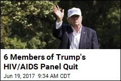 Saying Trump 'Does Not Care,' 6 Members of AIDS Panel Quit