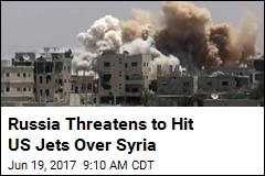 Russia Threatens to Hit US Jets Over Syria