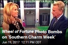 Wheel of Fortune Photo Bombs on 'Southern Charm Week'