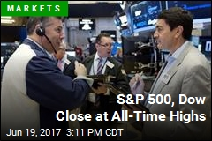 S&P 500, Dow Close at All-Time Highs