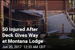 50 Hurt in Montana Deck Collapse