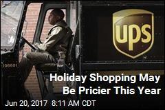 Holiday Shopping May Be Pricier This Year