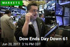 Dow Ends Day Down 61