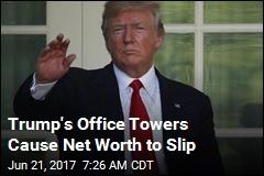 Trump's Net Worth Dips a Little