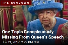 Queen's Speech Intriguing Due to What It Left Out
