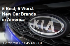 5 Best, 5 Worst New Car Brands in America
