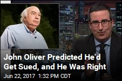 Coal Baron Sues John Oliver Over 'Character Assassination'