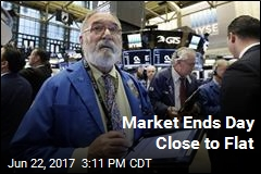 Market Ends Day Close to Flat