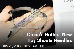 China's Hottest New Toy Shoots Needles