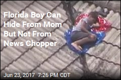 News Copter Spots Missing Florida Boy on Roof