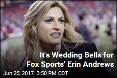 Erin Andrews, NHL Hubby Get Hitched in Montana