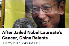 China Lets Nobel Laureate Out of Jail After Cancer Diagnosis
