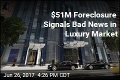$51M Foreclosure Signals Bad News in Luxury Market