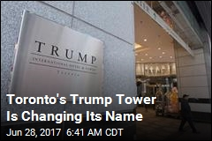 Toronto Hotel Pays Millions to Drop Trump Name