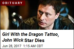 Girl With the Dragon Tattoo Star Dead at 56