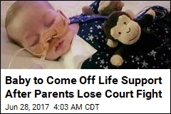 Parents Lose Last Court Fight to Save Their Baby
