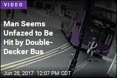 Guy Gets Hit by Bus, Strolls Into Pub