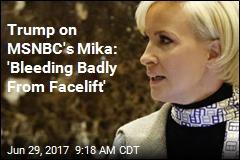 Trump Takes Personal Shot at MSNBC's Brzezinski
