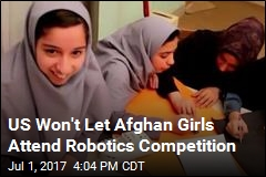 Afghan Girls Denied Visa to Compete in Robotics Challenge