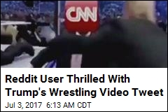 Reddit User Thrilled With Trump's Wrestling Video Tweet